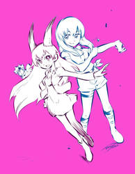 Emy Rose And Lucy By Takafumi Adachi by EmyRose123
