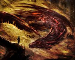 The sleeping dragon by shimhaq98