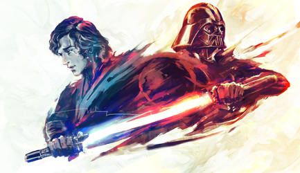Fear is the path to the Dark side by shimhaq98