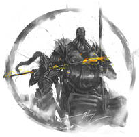 Ornstein and Smough by shimhaq98