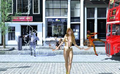Fortuna Walks By by TRAGICHEROINESCOMICS