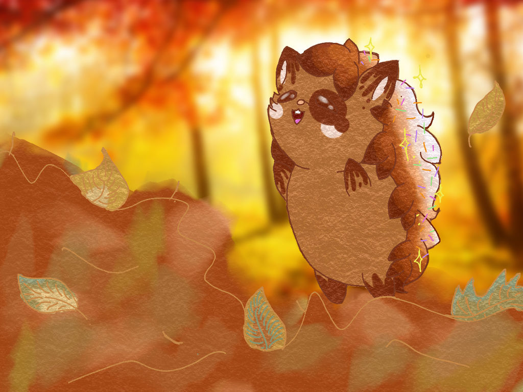 Leaf Pile by Phoenix-Wing-Art