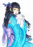 Lady of the Crane Clan by Soji-chan