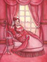 Red lady by Soji-chan