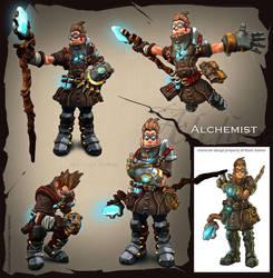 Torchlight II Alchemist by dustinbrown