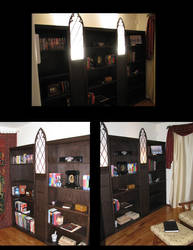 My Room with the bookcases by Sukiitoko