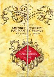 Marauder's Map by Sukiitoko