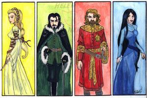 The Four Founders by Sukiitoko