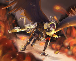 Literal-Hell's-Angel-mon by VolBeast