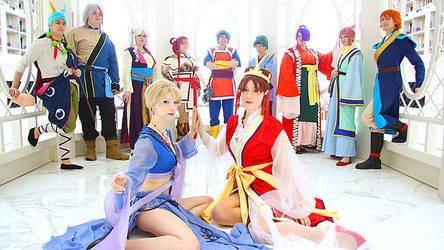 Fushigi Yuugi - The Two Priestess' by EveilleCosplay