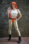 Suspenders Leeloo - The Fifth Element by EveilleCosplay