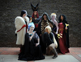 Villains Assemble! by EveilleCosplay