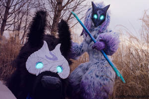 Magfest Photography 002 - Kindred - LoL by EveilleCosplay