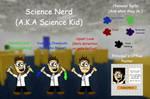 Baldi's Basics OC - Science Nerd by SarahDeFroggo225