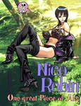 Nico Robin by kiwine