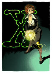 Scully color by kiwine
