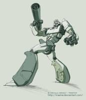 Megatron sketch by kiwine