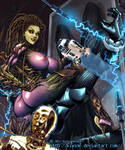 Kerrigan VS. Vador by kiwine