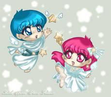 Lil' Shooting Stars by yanagi-san