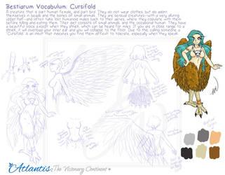 Bestiarum Vocabulum: Cursifold by yanagi-san