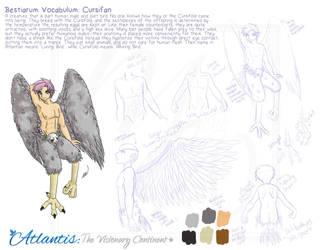 Bestiarum Vocabulum: Cursifan by yanagi-san