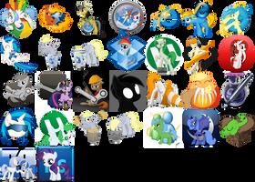 Pony Icon Pack by PinkiePi314
