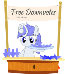 Free Downvotes by PinkiePi314