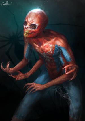 man-spider by MZauner