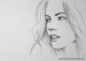 Kate Beckinsale by antoningaunand