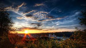 Sunset Sky by Saber1705