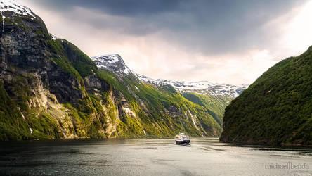 Geirangerfjord by Saber1705