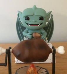 Midnight snack by Wildandcrazyart