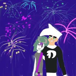 Fireworks show by Wildandcrazyart