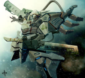 Samurai by abaratoha
