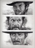 The good the bad and the ugly by brucethebandit