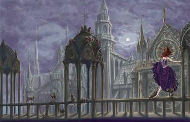Moon's sorcery by Acard
