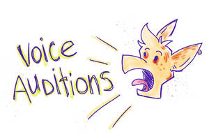 Calling All Aspiring Voice Actors! by bugbyte