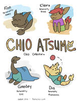 Chio Atsume: Chio Collector! by bugbyte