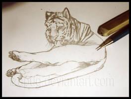 WIP - Like a Kitten by IzaPug