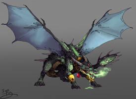 Acid Dragon by IzaPug
