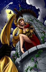 Rapunzel let down your hair by Iduna-Haya