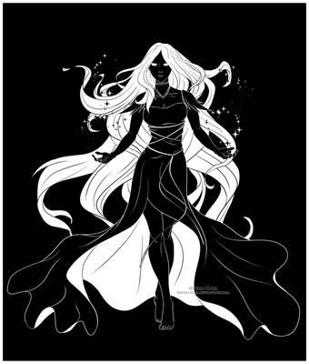 The Goddess by Iduna-Haya