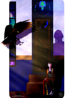 The Queen of Shadows by Iduna-Haya