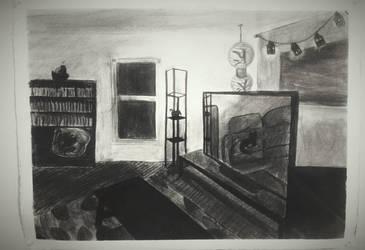 Living Room - Final by Keitilen