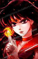 Fire Soul - Sailor Mars by morbidprince