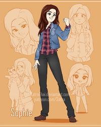 Sketchpage - Sophie by SatraThai