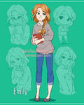 Sketchpage - Emily by SatraThai