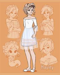 Sketchpage - Hayley by SatraThai