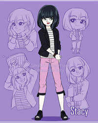Sketchpage - Stacy by SatraThai