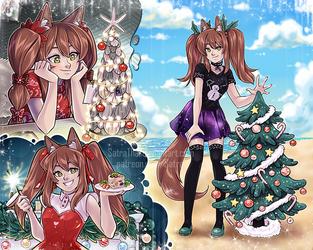 Merry Christmas! - 9/12 - Arraxis / Summer Xmas by SatraThai